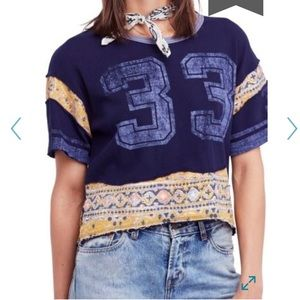 We The Free People by Free People Nicky Crop Tee